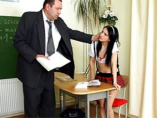 Punished by teacher