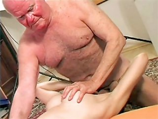 Grandpa makes a nurse cum